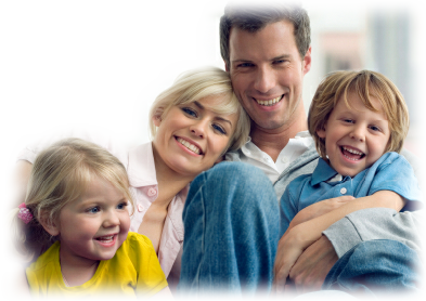 Good dental health makes for happy smiling families